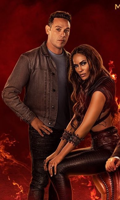 Lucifer season 6 poster Dan and Maze
