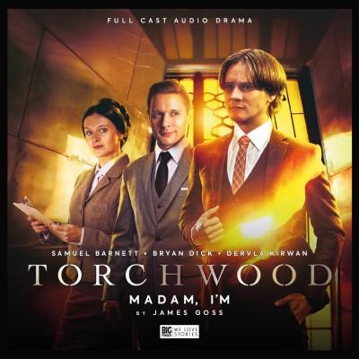 Full cover of Big Finish audio Torchwood: Madam, I'm